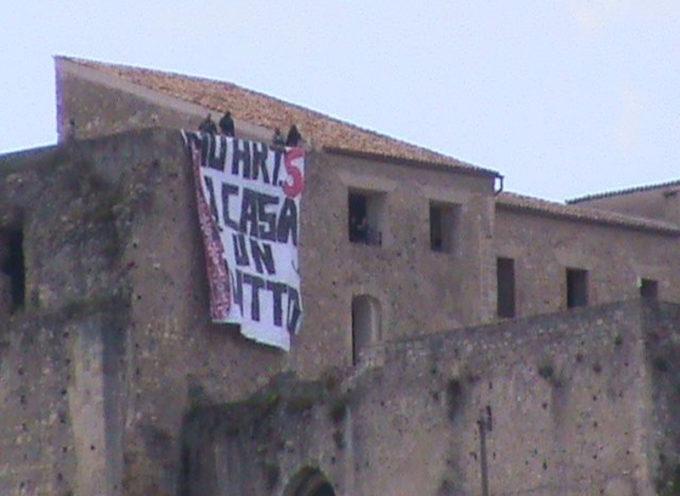 Cosenza: Occupato il Castello Svevo
