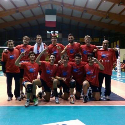 La Scuola Volley Paola in serie C dopo la vittoria contro la Callipo Sport
