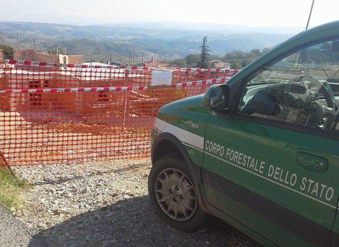 Sequestrato cantiere edile a Torano