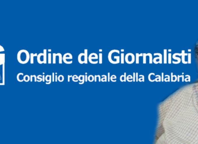 L'OdG Calabria e Cosmo De Matteis solidali col giornalista intimidito