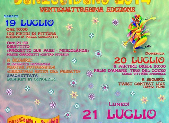 """San Lucido: tre giorni sono una """"vulata"""" col Carnevale estivo"""