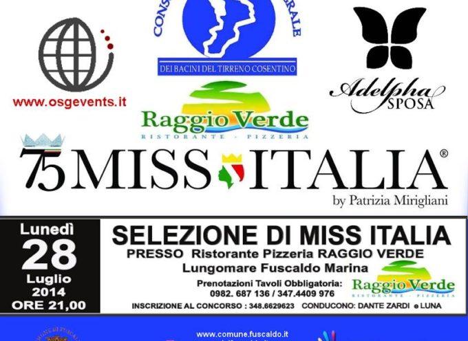 Miss Italia a Fuscaldo: non solo bellezza in passerella