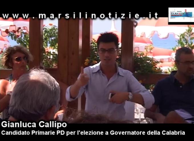 Gianluca Callipo a Paola: «Oliverio era già in Consiglio quando io non ero nato» [VIDEO]