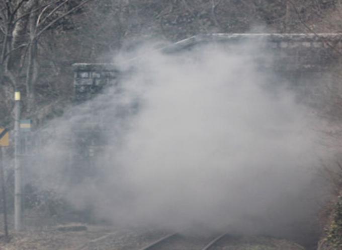Paola-Cosenza: fumo nella galleria ferroviaria