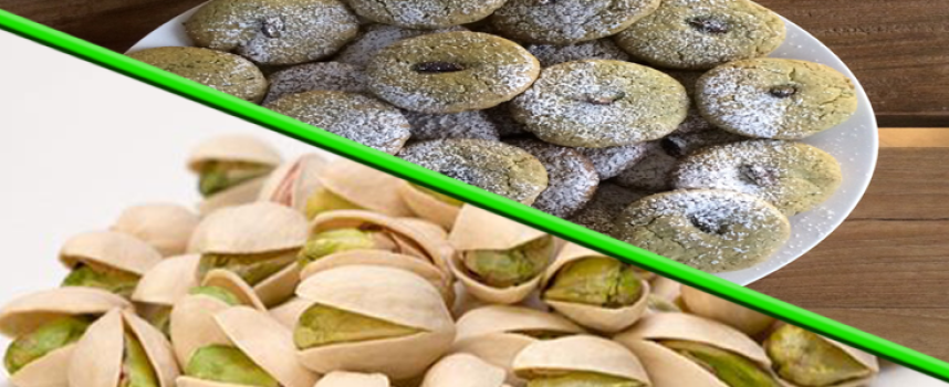 Biscotti al pistacchio di Bronte