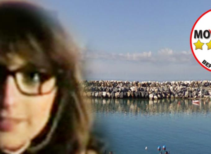 Dalia Nesci, M5S, interviene sul porto di San Lucido