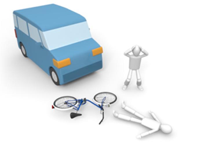 [FLASH] Incidente a Fiumefreddo, auto contro bici: almeno due feriti