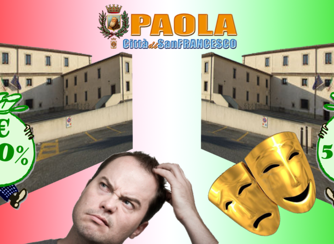 """PAOLA – Proposte """"indecenti"""" ai creditori del Comune [Mentre al """"teatro"""" si danno 5.000 €]"""