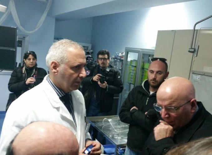 Oliverio visita il CENTRO CUORE di Reggio Calabria