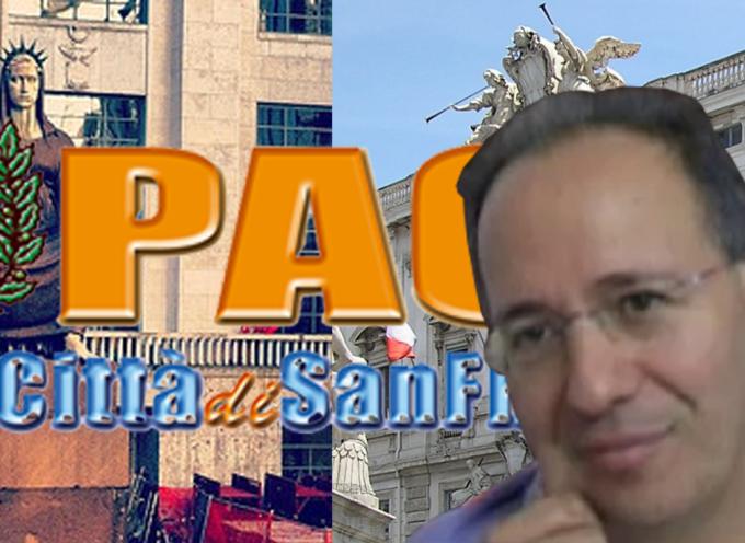 Dissesto Comune Paola – Tar conferma, Pitaro non condivide [INTERVISTA ESCLUSIVA]