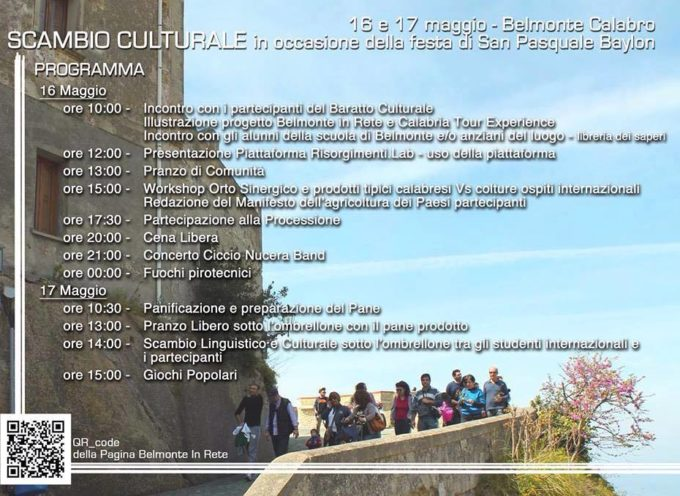 Belmonte in Rete: scambio culturale durante la festa patronale