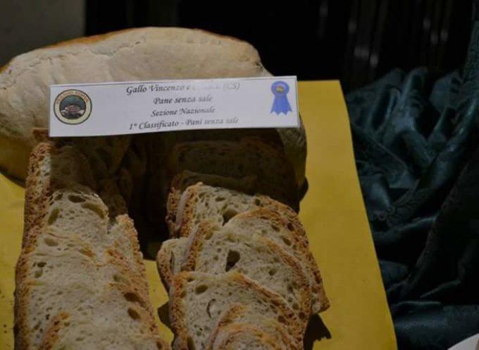 Primo e terzo posto per il pane calabrese in gara a Roma
