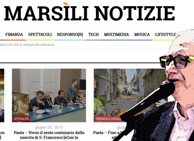 Cosmo De Matteis solidale con Maniaci: «Anche il Marsili rischia»