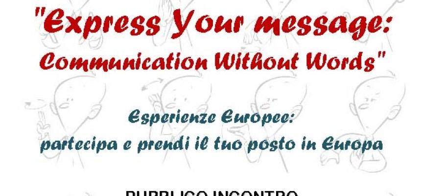 """Paolab. Divulgazione del progetto """"Express Your Message"""""""