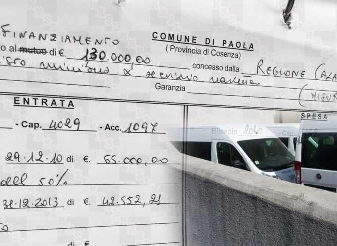 """Paola – Il """"caso pulmini"""" potrebbe passare da 130mila a 260mila €"""