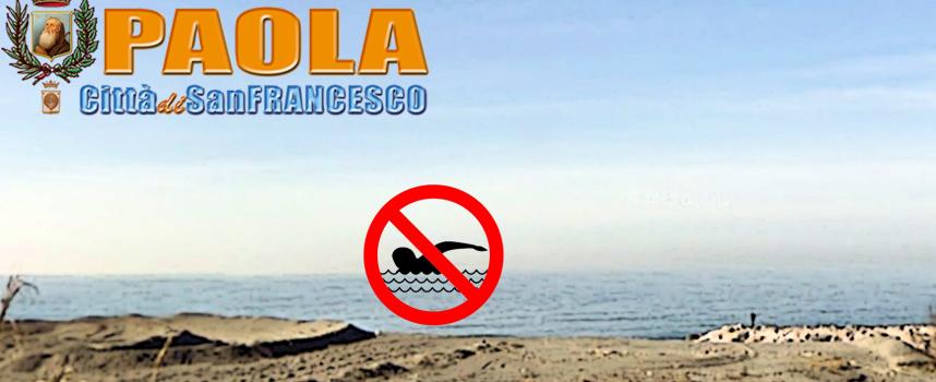 Paola – Dopo oltre un anno è stata revocata l'ordinanza di non balneabilità