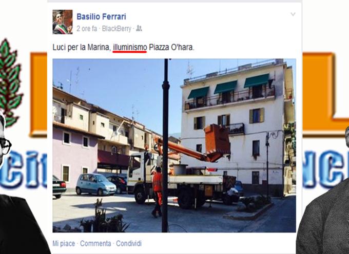 """Paola – Basilio Ferrari invoca """"ILLUMINISMO"""" per la Marina"""