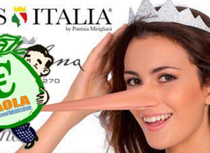 "Paola – 20mila euro ancora ""pendenti"" su Miss Italia. Pagata Miss Europe"