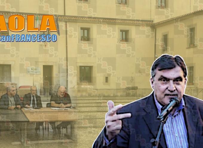 """Paola – Alleanze&Liste. Roberto Perrotta: """"4""""; ma è nato un trio"""
