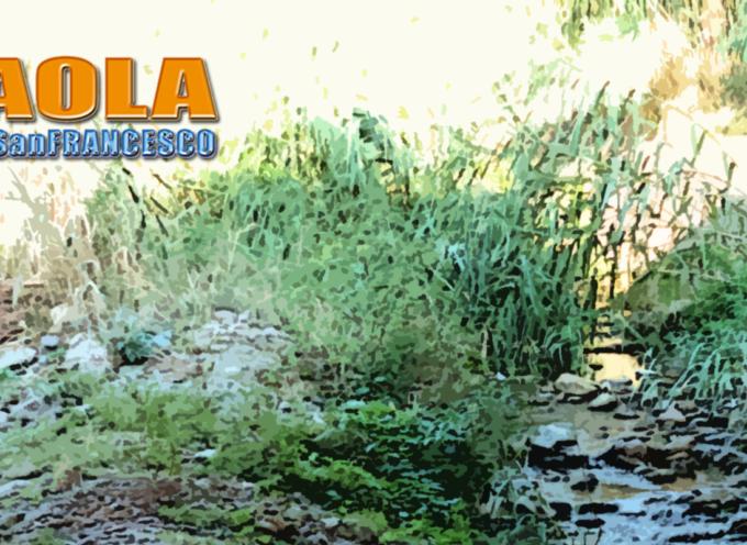 [IL MALTEMPO INCOMBE] I fiumi paolani necessitano attenzione. Ma operai ce ne sono?