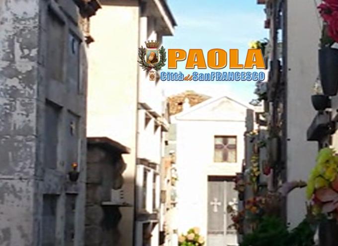 """Nonostante gli ampliamenti, al cimitero di Paola è """"tutto esaurito"""""""