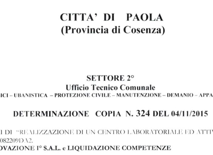 [Paola] Ex candidati per Ferrari nel pool pluriincaricato e ben retribuito [ma agli atti manca la firma del Segretario]