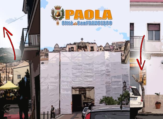 """[Paola] Commercio agevolato da luce pubblica e alberi """"superpotati"""""""