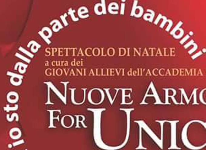 Stasera per l'Unicef risuoneranno Nuove Armonie