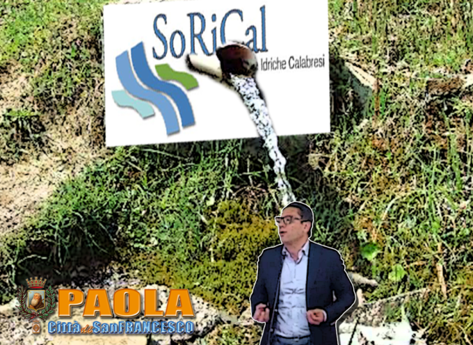 Paola – Acqua non potabile a sud della Città, Sorical sminuisce Ferrari