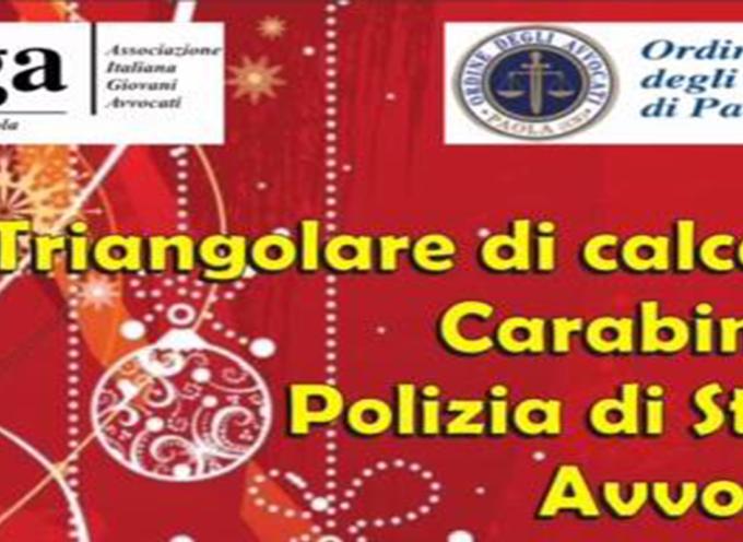 [Paola] Avvocati, Carabinieri e Polizia, insieme per fare beneficienza