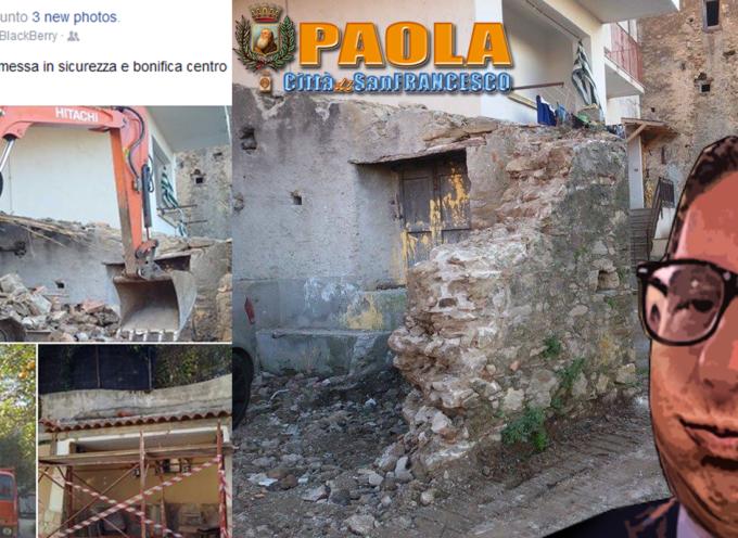 """Paola – Basilio Ferrari """"risparmia il fiato"""" e, nel dubbio, demolisce"""