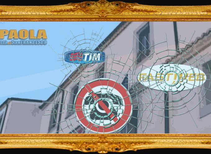 Gli uffici del Comune di Paola, nel S.Agostino, isolati da settimane