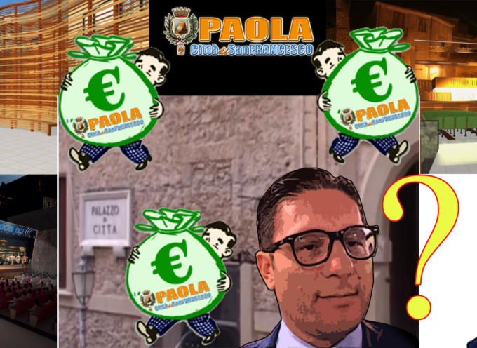 """Paola – Anfiteatro Sette Fontane """"prende"""" i soldi del Palazzo di Città"""