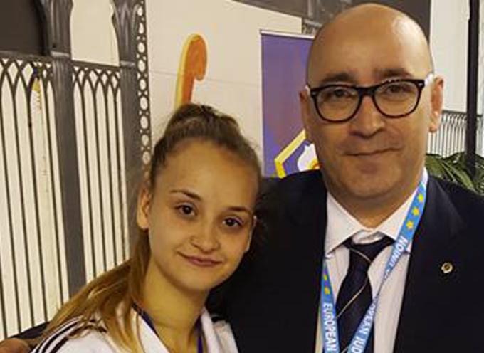 Paola – La judoka Anna De Luca orgoglio europeo e della Nazionale