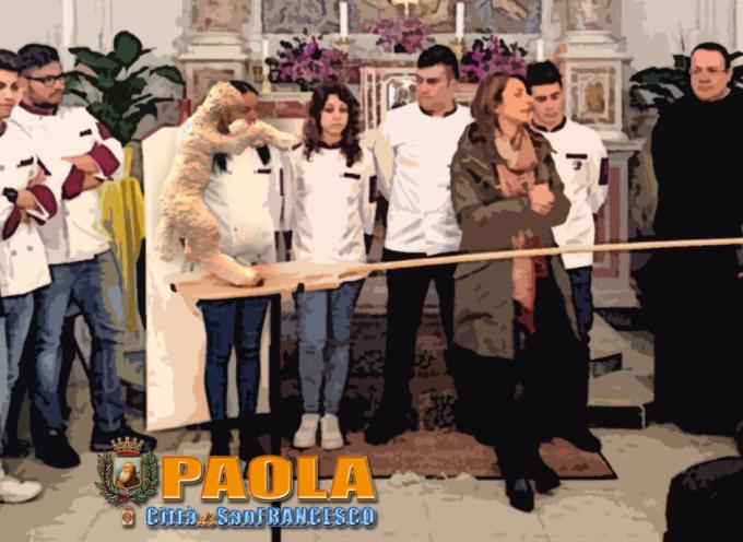 Paola – Il Martinello Rampante (restaurato) è stato benedetto