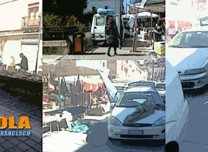 Paola – Mercato, ancora veicoli sull'isola pedonale di Corso Roma