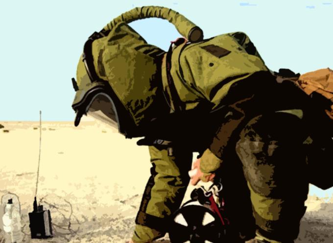 Ritrovata una bomba inesplosa, intervengono gli artificieri