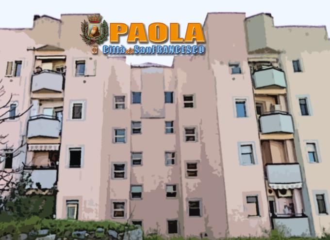 Paola – Ecco la graduatoria definitiva per le Case Popolari