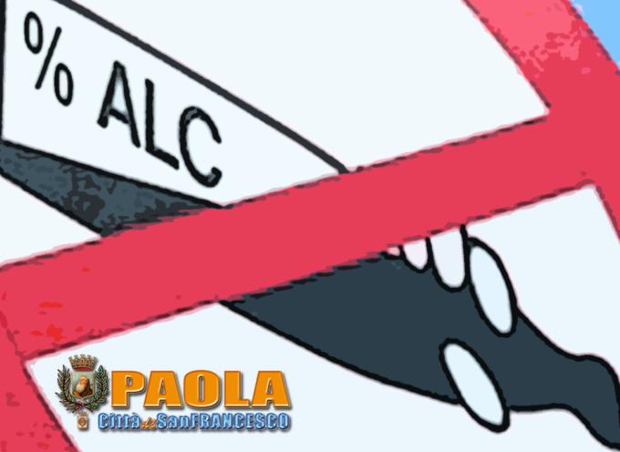 Paola – Sentenza del Tribunale chiarisce le modalità Alcoltest