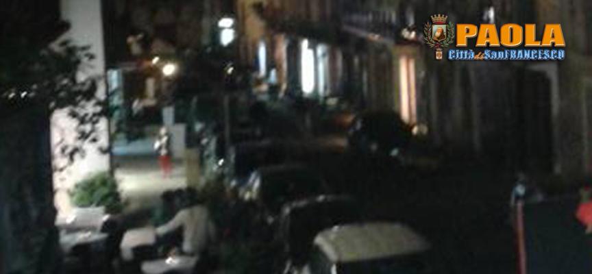 Paola – Corso Garibaldi e Via Valitutti sono state al buio