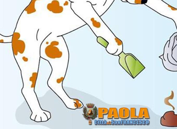Paola-Sprone al senso civico, Anpana Oepa avvia sensibilizzazione