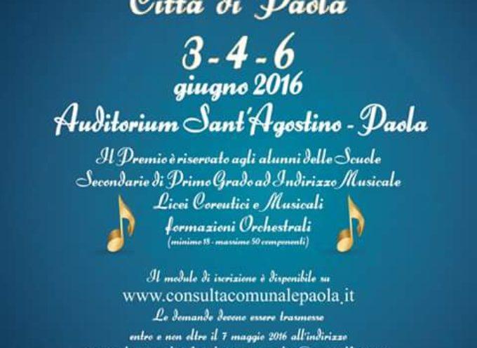 """Paola – Scatta oggi la """"tre giorni"""" musicale del Sant'Agostino"""