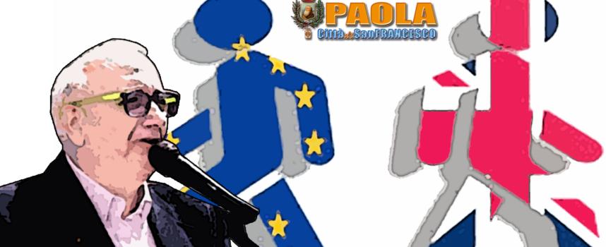 """Paola – Cosmo De Matteis teme gli effetti di Brexit sui """"locali"""""""