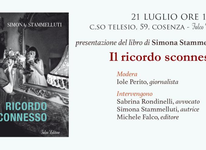 """Simona Stammelluti presenta il suo libro """"Il ricordo sconnesso"""""""
