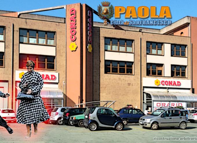 """Paola – Donna """"scippata"""" nel parcheggio della Conad. Caccia ai malfattori"""