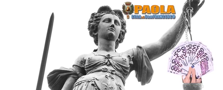 """Paola – Pubblicati gli ultimi (?) impegni """"legali"""" dell'amministrazione Ferrari"""