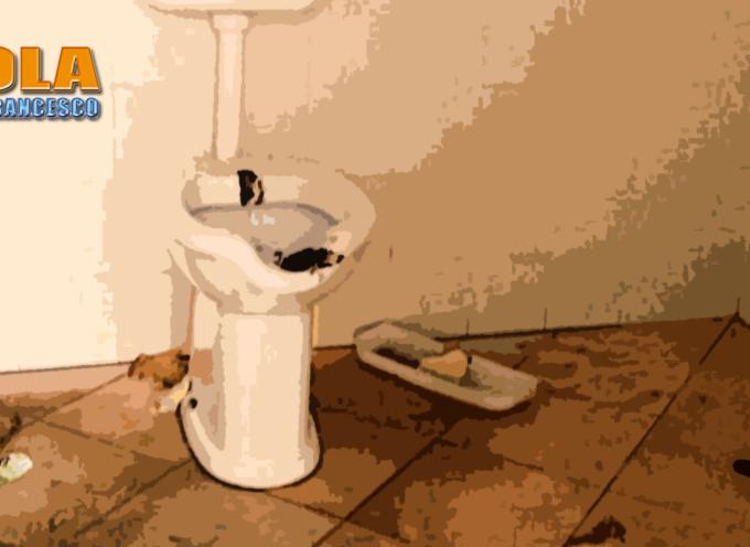 Paola – Vandalizzato il bagno PER DISABILI di Parco Europa (Video)