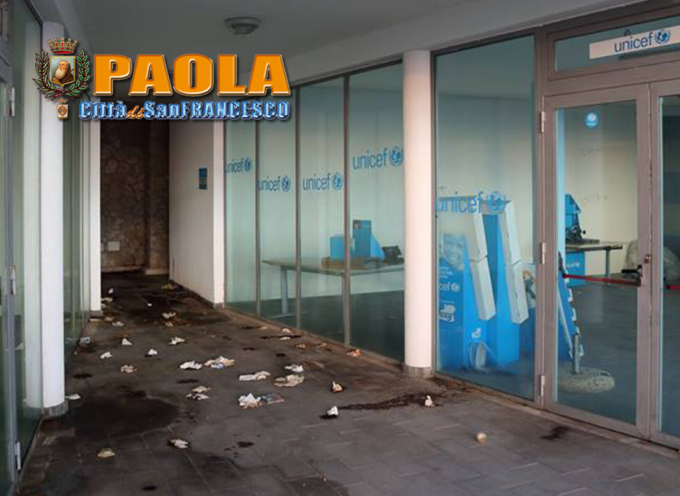 Paola – A due passi dal Santuario c'è un degrado che risale al 2013! VIDEO