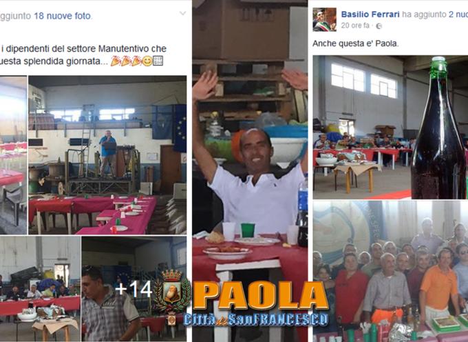 """Paola – Una """"mangiata"""" al capannone giova al rapporto tra operai e comune"""