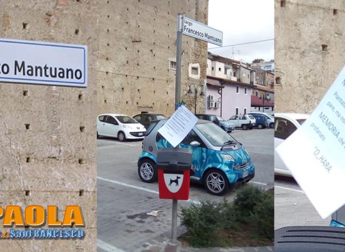 """Paola – Fino a ieri (lunedì 17.10.16) offesa la memoria del """"Grande O'Hara"""""""